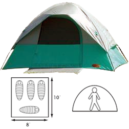 Canyon Square Dome Tent