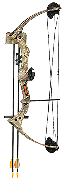 Warrior Iii Bow Rh Apg Camo W/accessory Package*only 1 Bow