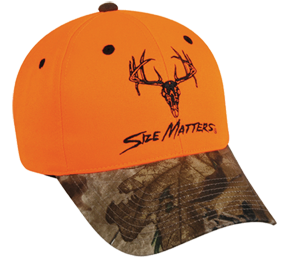Size Matters Cap Blaze Orange