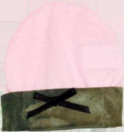 Pink Jersey Hat Mossy Oak Cuff