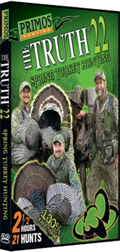 Primos Truth 22 Spring Turkey Dvd
