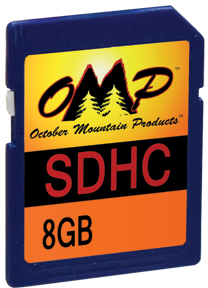 Omp 8gb Cl6 Sd Card
