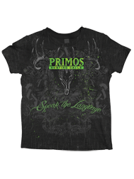Primos Speak The Language Short Sleeve Tshirt Black Large