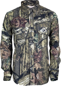 Youth Explorer Long Sleeve Shirt Mossy Oak Infinity L