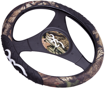 Browning Rubber Molded Steering Wheel Cover Infinity