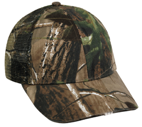 Hi Beam Mesh Back Cap W/white Led Realtree All Purpose