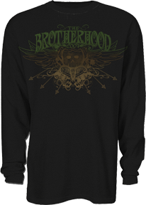Bone Collector Brotherhood Long Sleeve Thermal Black 2xlarge