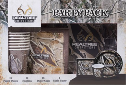 Realtree Outfitters Party Pack 33 Piece - 8pk