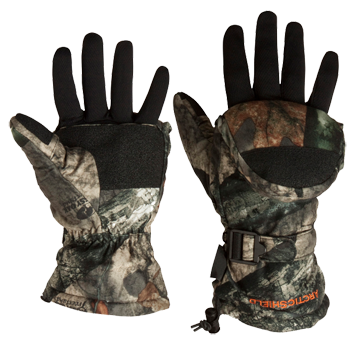 Glo Mitt Gloves Mossy Oak Infinity Large