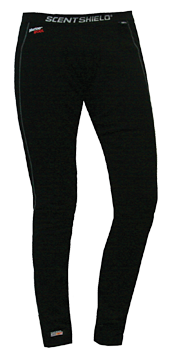 S3 Iris Wool Base Layer Pants Black Large