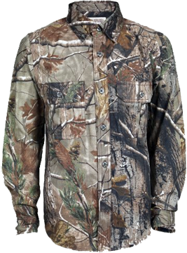Jr. Explorer Long Sleeve Shirt Realtree All Purpose Small