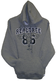 Mens Hooded Sweatshirt Realtree Oxford Xlarge