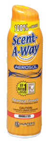 Hs Scent-a-way Aerosol 15.5oz Odorless