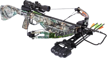 14 Challenger 125-150# Crossbow Pkg W/4x Multi Reticle Scope