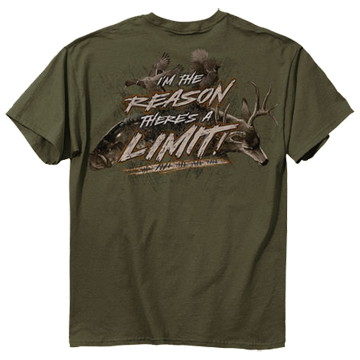 Reason For Limit Tshirt Olive Xlarge