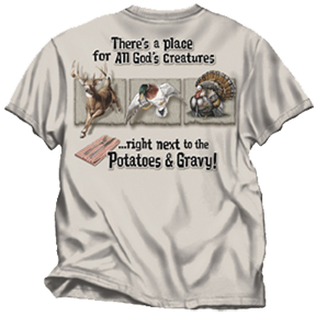 All Gods Creatures Tshirt Sand Adult 3xlarge