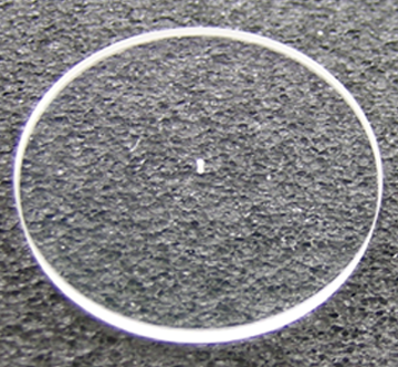 Plano-convex Mag 4x Lens .010 Drilled
