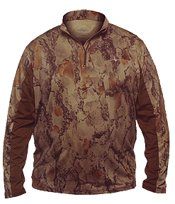 Scent Factor Shirt Natural Camo Xlarge