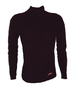 Apx Wool Base Layer Top Black Medium
