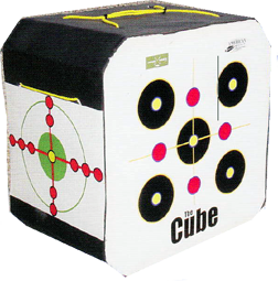 The Cube Target 18x18x12