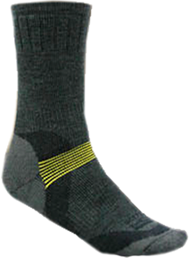 Expedition Weight Sock Charcoal Large