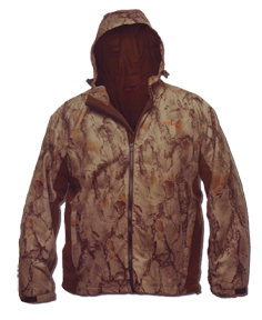 Scent Factor Jacket Natural Camo Xlarge
