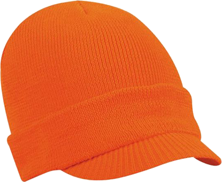 Lightweight Fleece Radar Cap Blaze Orange Osfm