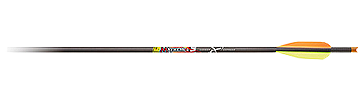"Mayhem 22"" Crossbolts W/moon Nocks"