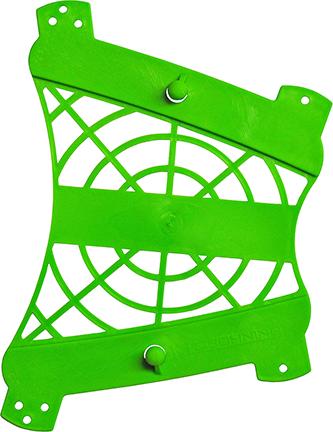 Web Armguard Neon Green