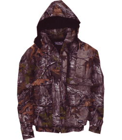 Insulated Hooded Parka Realtree Xtra Camo Large