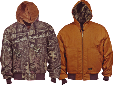 Mossy Oak Insulated Reversible Hooded Jacket Bu Infinity L