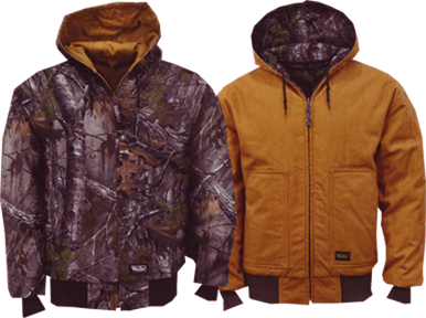 Insulated Reversible Hooded Jkt Realtree Xtra To Canvas Xlarge