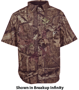 Mossy Oak Cape Bck Short Sleeve Shirt Mossy Oak Obsession L