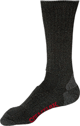 Wool Blend Boot Sock Dark Grey Large
