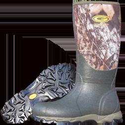 Treeline 8.5 Mossy Oak Breakup Boot Size 13