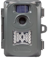 Simmons 6mp Whitetail Cam Grey Case W/nigth Vision Camera