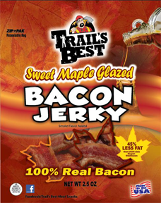 Trails Best Maple Bacon Jerky 2.5oz