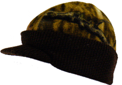 Knit Visor Cap Realtree All Purpose Camo