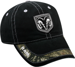 Dodge Ram Mossy Oak Breakup Infinity Black Hat