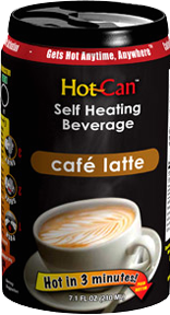 Hot Can Cafe Latte