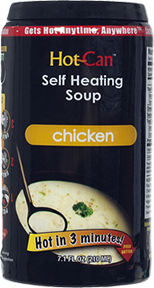 Hot Can Chicken Soup