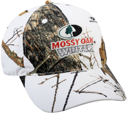 Mossy Oak Winter Embroidered Hat