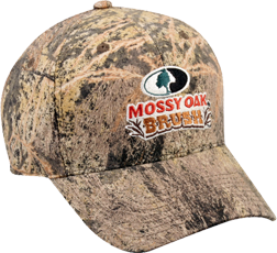 Mossy Oak Brush Embroidered Hat