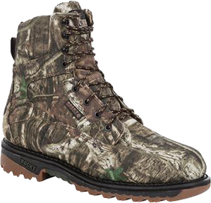 Outdoor Ride Laceup Mossy Oak 800gr Boot Size 10