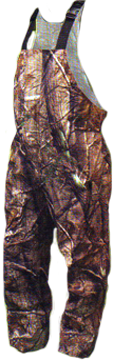 Toadz Camo Rain Bibs Realtree All Purpose Large