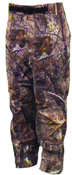 Toadz Camo Rain Pant Realtree All Purpose Large