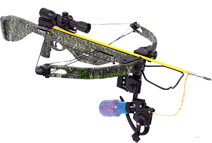 14 Stingray Bowfishing Xbow Pkg W/1x Illuminated Scope