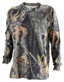 Explorer Long Sleeve T-shirt Mossy Oak Breakup Large