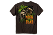 Ladies Nock'em Dead Tshirt Dark Chocolate Xlarge