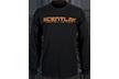 Scent Lok Black Logo L/s Tshirt Black Large